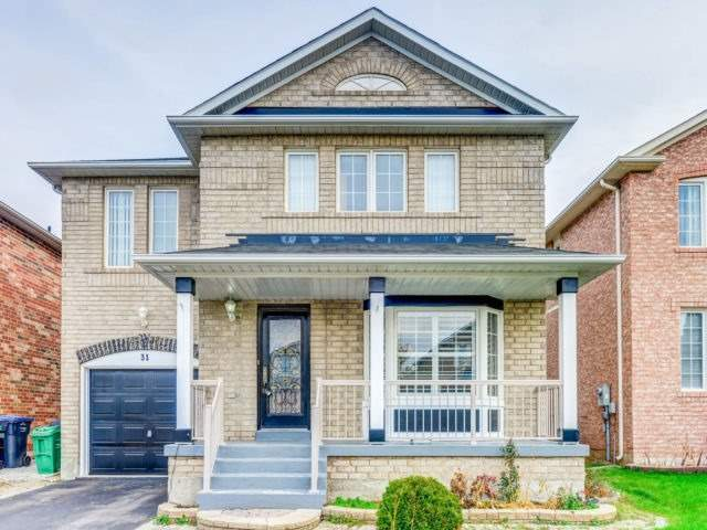 House for sale at 31 Schooner Drive Brampton Ontario - MLS: W4299604