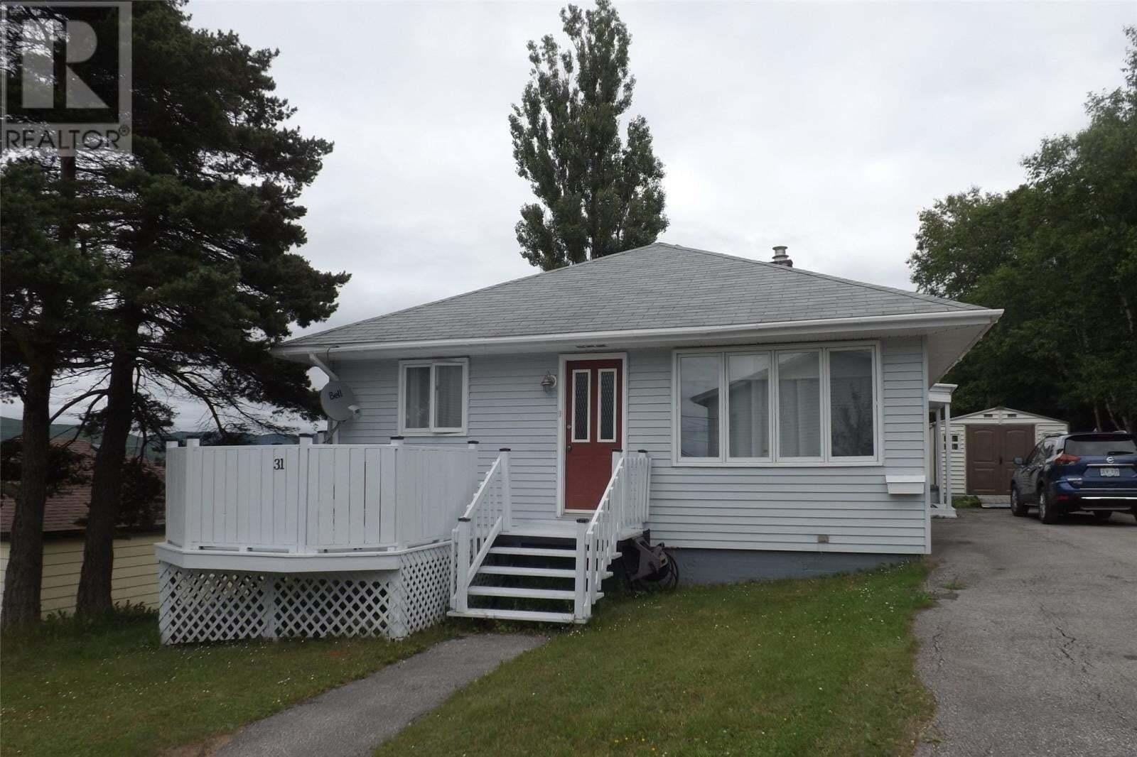 House for sale at 31 Second Ave Corner Brook Newfoundland - MLS: 1218635