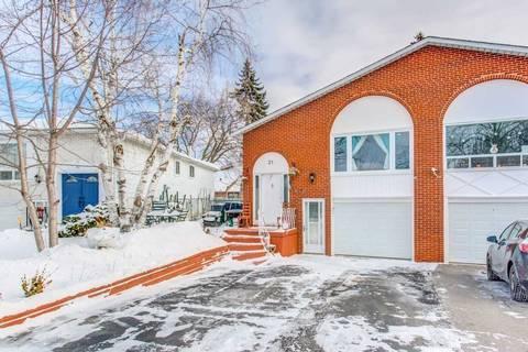 Townhouse for rent at 31 Tuscarora Dr Toronto Ontario - MLS: C4691286