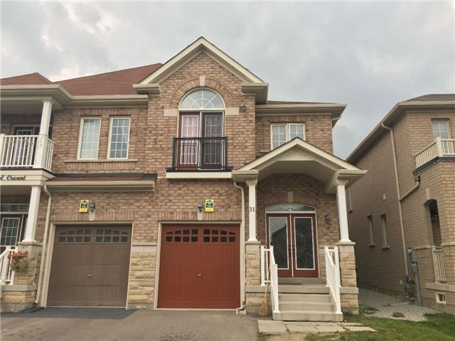 For Sale: 31 Vanderpool Crescent, Brampton, ON | 4 Bed, 3 Bath Townhouse for $699,900. See 2 photos!