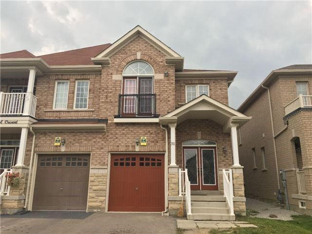 For Sale: 31 Vanderpool Crescent, Brampton, ON | 4 Bed, 3 Bath Townhouse for $699,000. See 2 photos!
