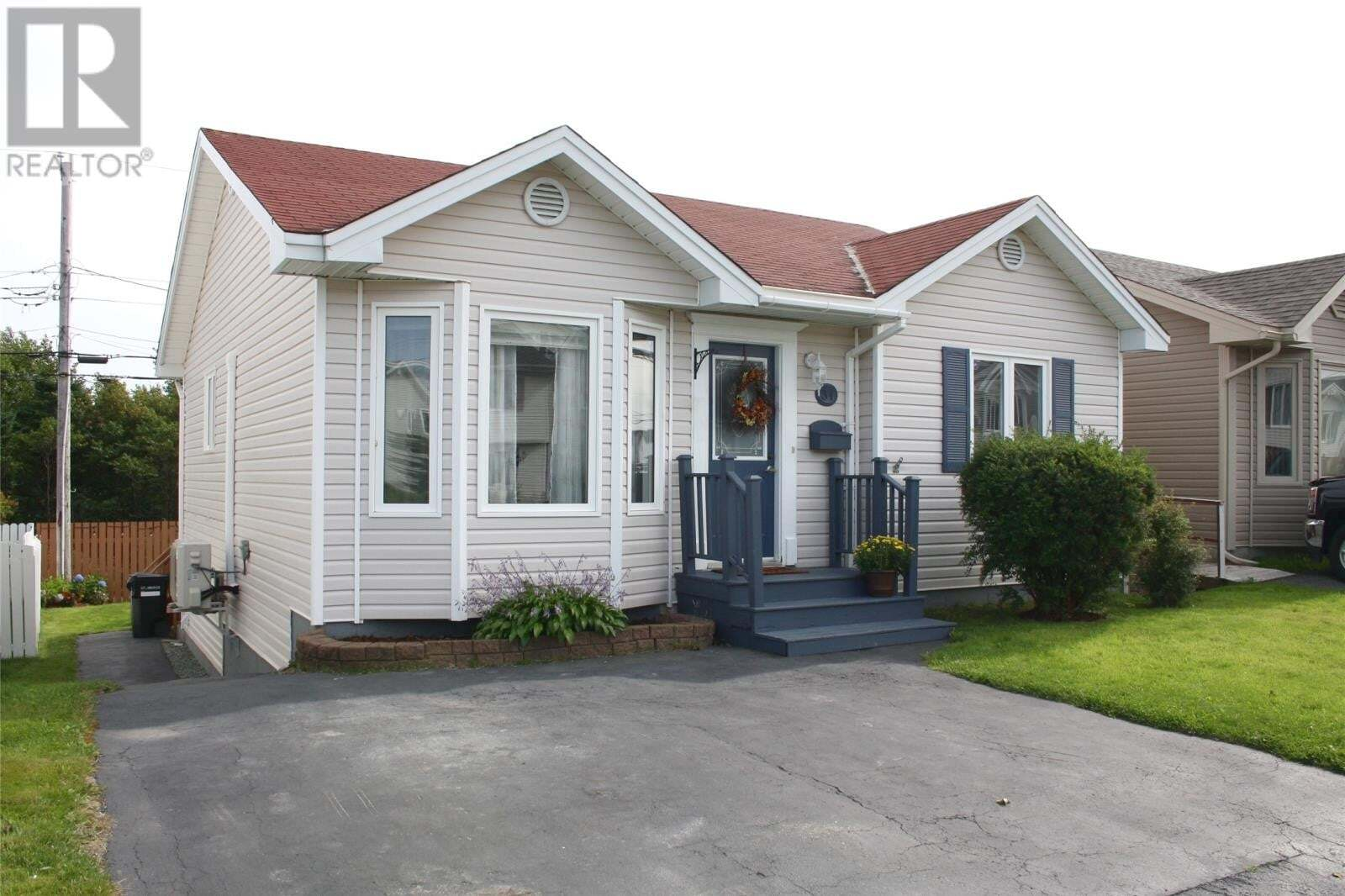 House for sale at 31 Winslow St St. John's Newfoundland - MLS: 1221335