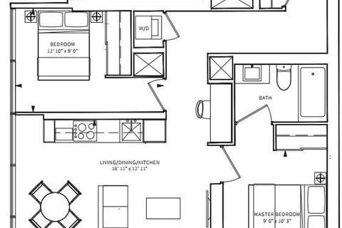 Apartment for rent at 85 Wood St Unit 3103 Toronto Ontario - MLS: C4495519