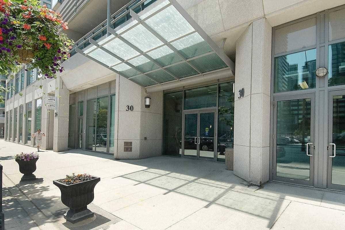 Condo for sale at 30 Grand Trunk Cres Unit 3105 Toronto Ontario - MLS: C4611825
