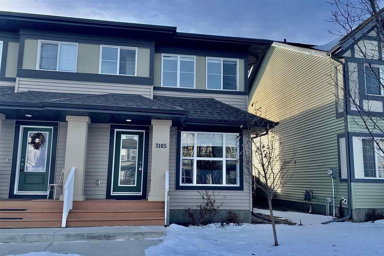 Townhouse for sale at 3105 Paisley Rd SW Edmonton Alberta - MLS: E4224944