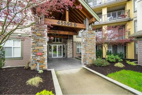 Condo for sale at 45595 Tamihi Wy Unit 310B Sardis British Columbia - MLS: R2357218