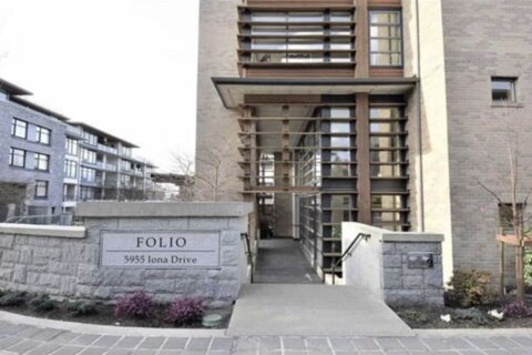 Condo for sale at 5955 Iona Dr Unit 311 Vancouver British Columbia - MLS: R2526036