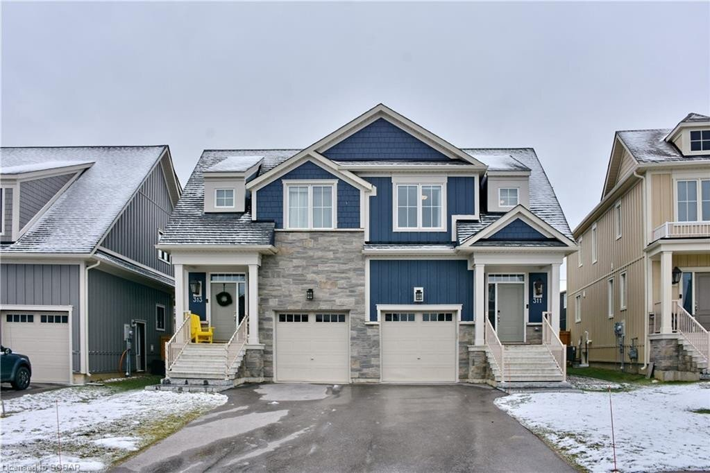 House for sale at 311 Yellow Birch Cres The Blue Mountains Ontario - MLS: 40046522