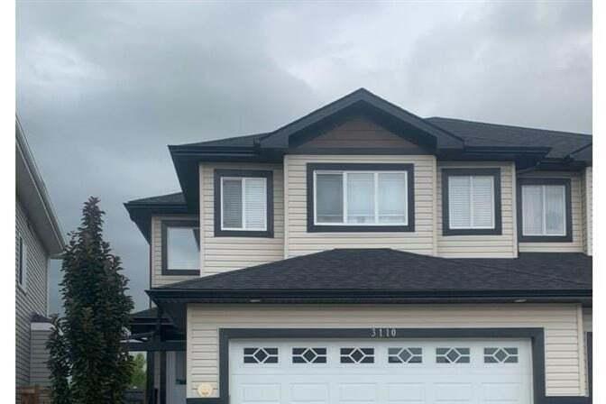 Townhouse for sale at 3110 152 Av NW Edmonton Alberta - MLS: E4190910