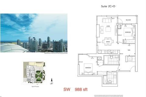 Condo for sale at 300 Front St Unit 3112 Toronto Ontario - MLS: C4674935