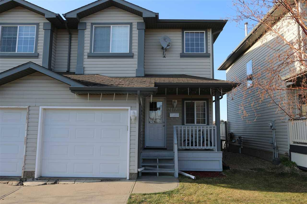 Townhouse for sale at 3112 31 Ave Nw Edmonton Alberta - MLS: E4154678