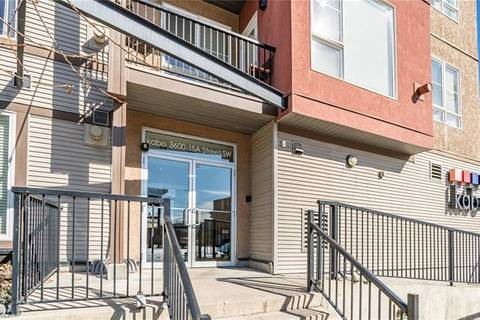 Condo for sale at 3600 15a St Southwest Unit 312 Calgary Alberta - MLS: C4292384
