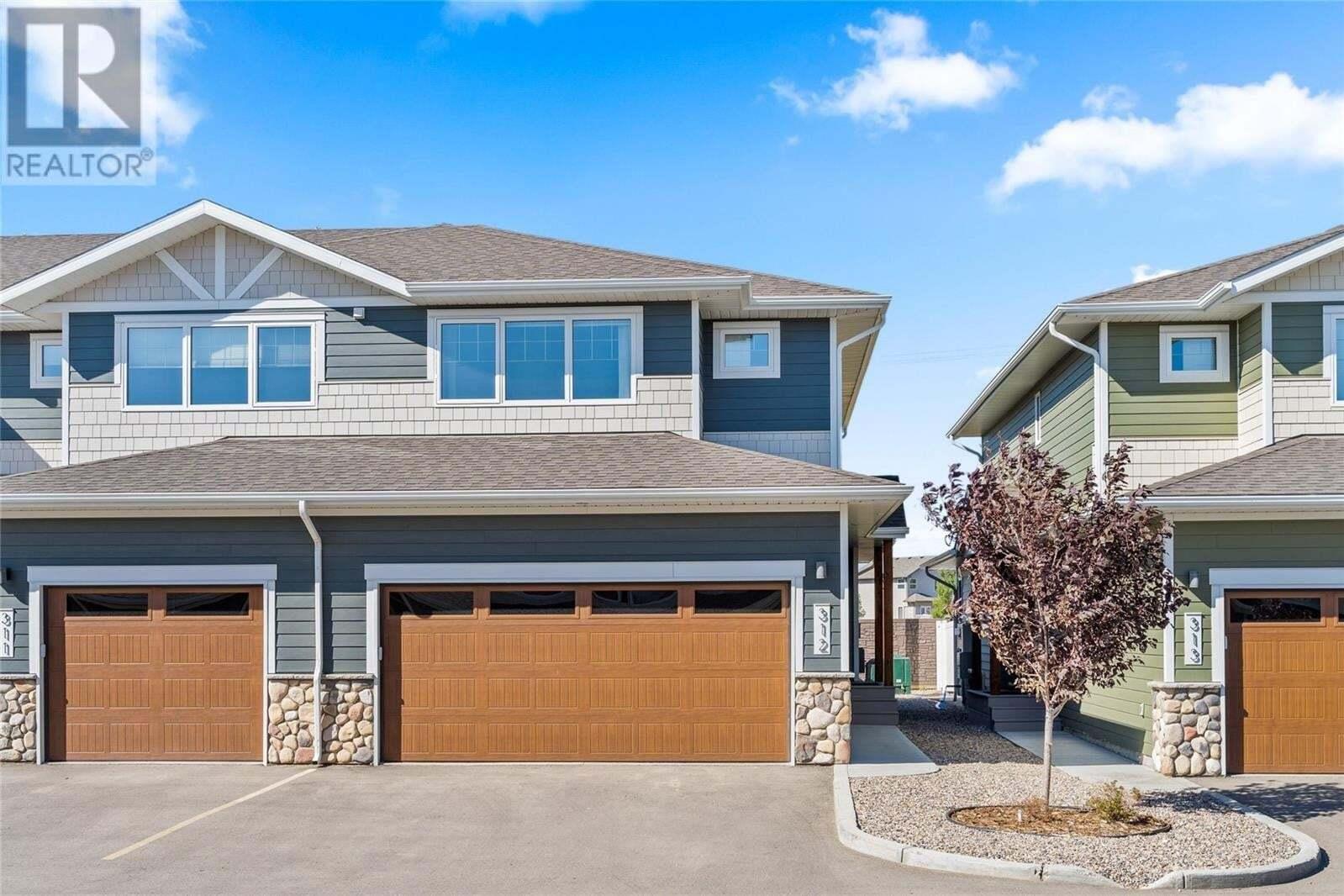 Townhouse for sale at 4000 Sandhill Cres Unit 312 Regina Saskatchewan - MLS: SK826674
