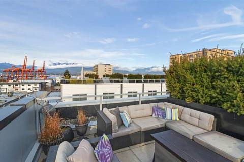 Townhouse for sale at 557 Cordova St E Unit 312 Vancouver British Columbia - MLS: R2432914
