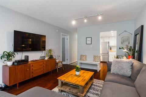 Condo for sale at 621 6th Ave E Unit 312 Vancouver British Columbia - MLS: R2411708