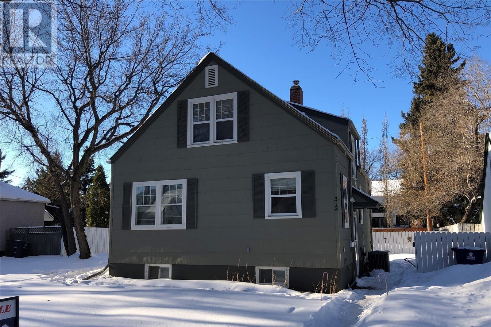 House for sale at 312 Mckinnon Ave Saskatoon Saskatchewan - MLS: SK828021