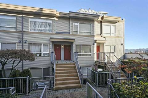 Townhouse for sale at 2688 Watson St Unit 313 Vancouver British Columbia - MLS: R2421766