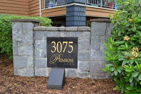 Condo for sale at 3075 Primrose Ln Unit 313 Coquitlam British Columbia - MLS: R2370665