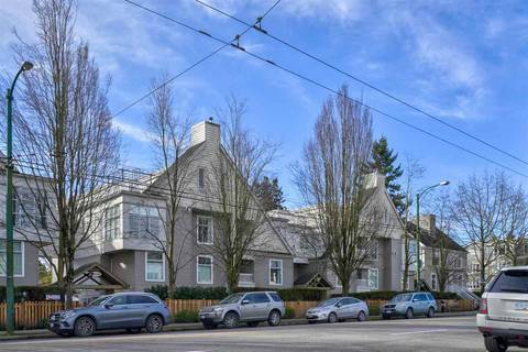 Townhouse for sale at 3150 4th Ave W Unit 313 Vancouver British Columbia - MLS: R2441202