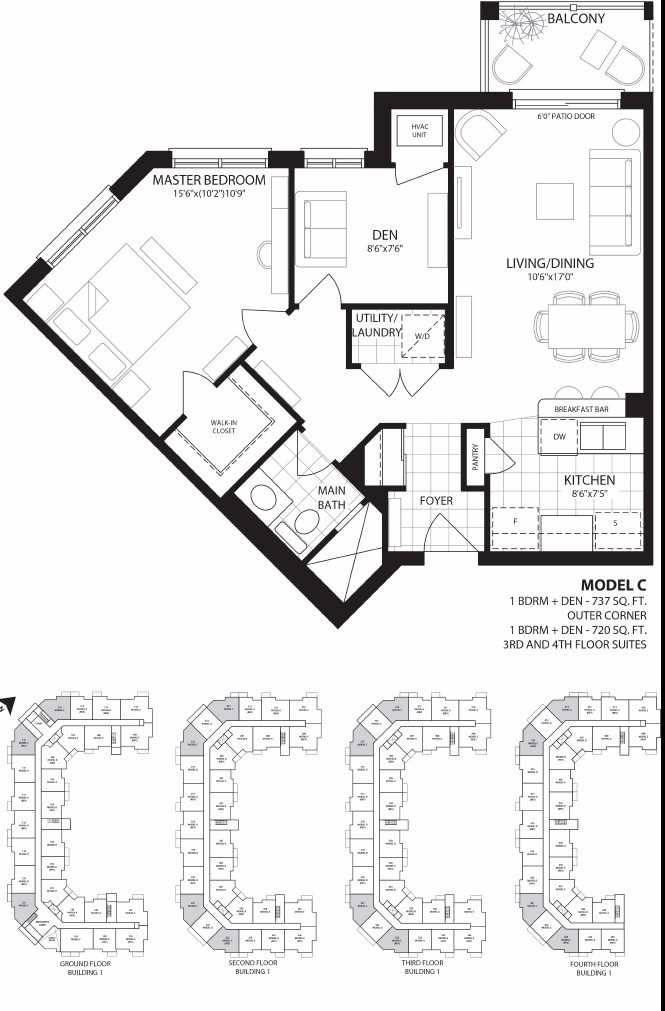 Condo for sale at 84 Aspen Springs Dr Unit 313 Clarington Ontario - MLS: E4420913