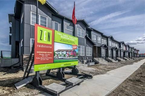 Townhouse for sale at 313 Red Embers Pr Northeast Calgary Alberta - MLS: C4225566