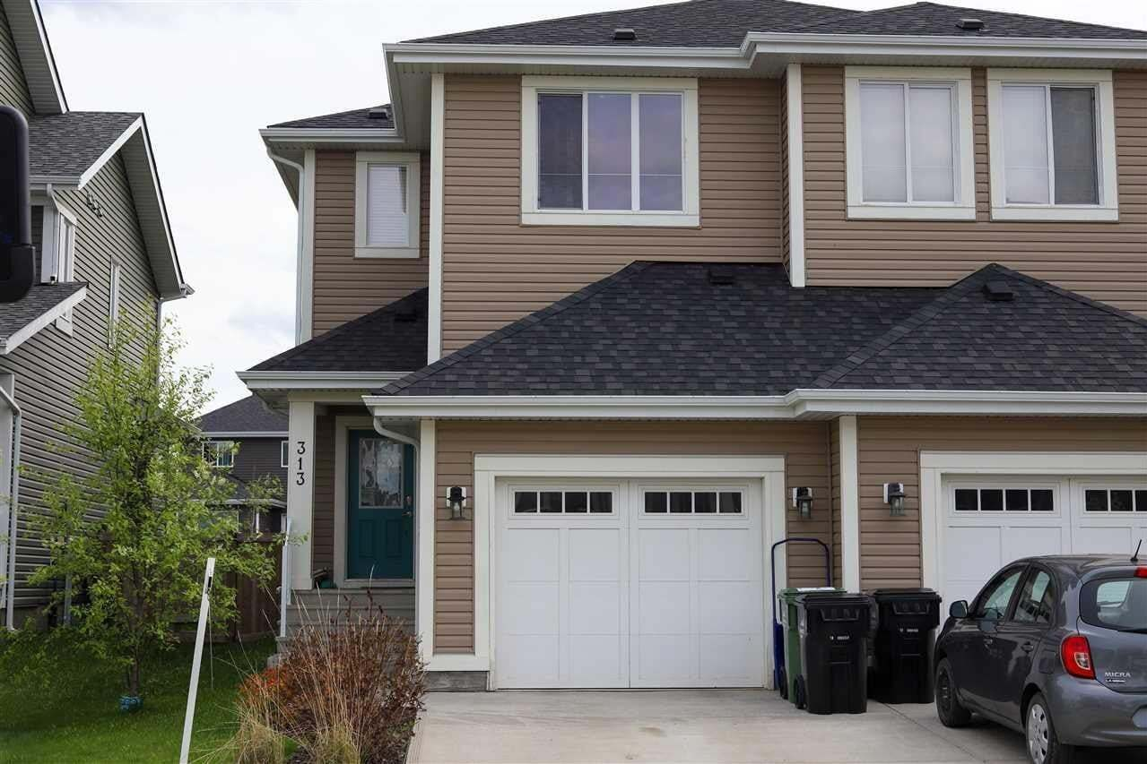 Townhouse for sale at 313 Simmonds Wy Leduc Alberta - MLS: E4194157