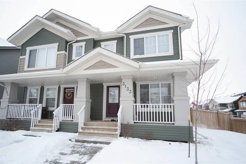 Townhouse for sale at 3133 Paisley Rd Sw Edmonton Alberta - MLS: E4141431