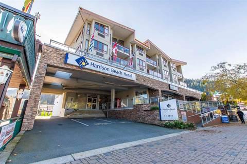 Condo for sale at 160 Esplanade Ave Unit 314 Harrison Hot Springs British Columbia - MLS: R2433162