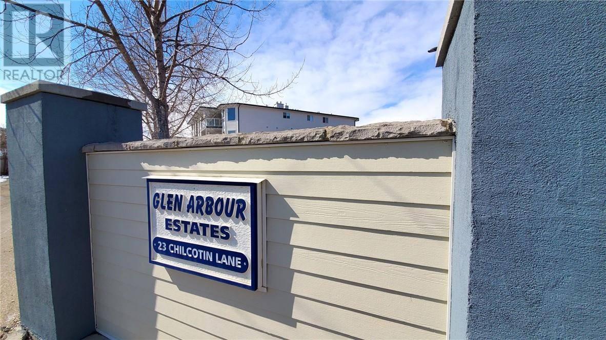 Condo for sale at 23 Chilcotin Ln W Unit 314 Lethbridge Alberta - MLS: ld0191776
