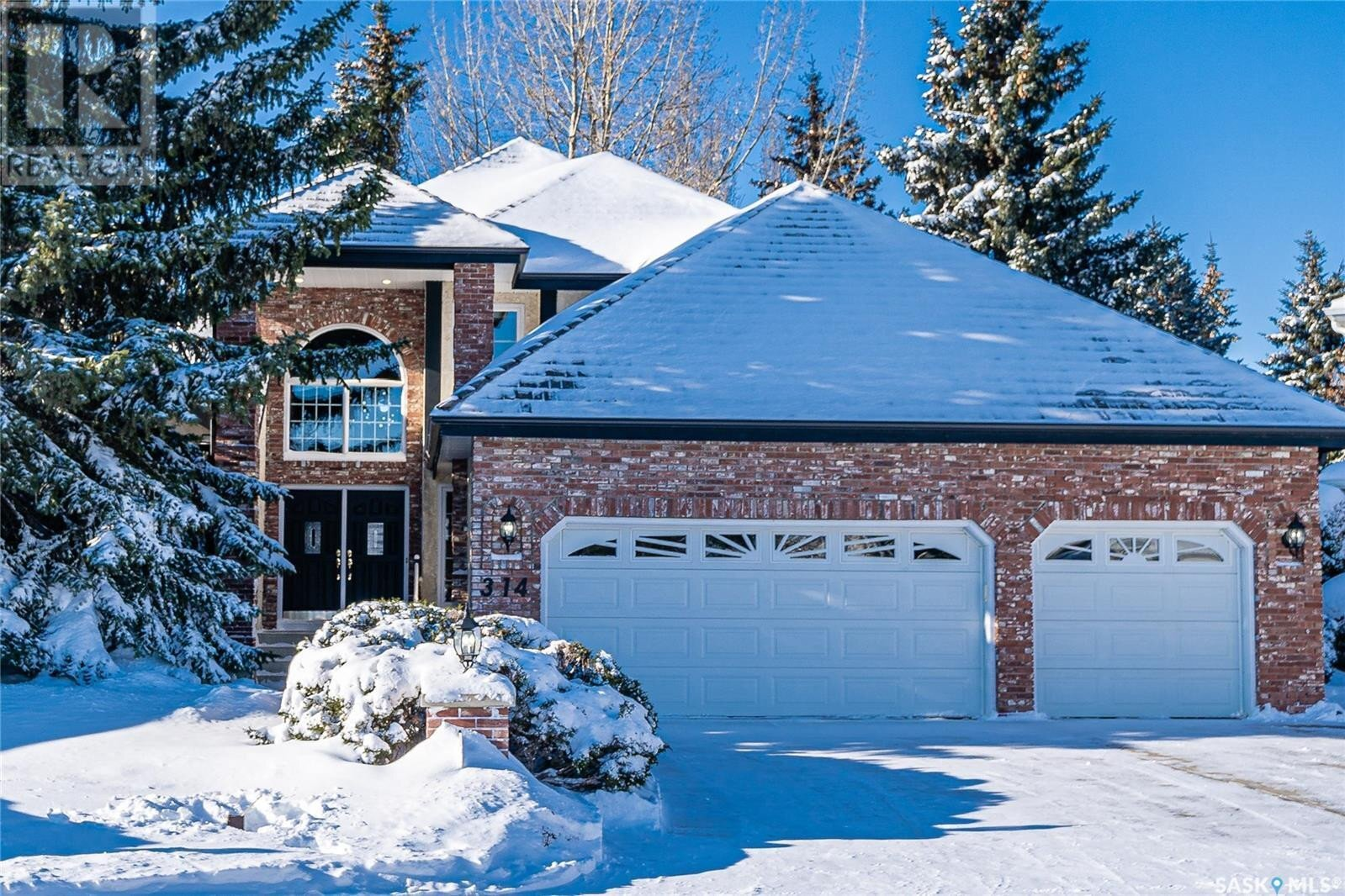 House for sale at 314 Braeside Ct Saskatoon Saskatchewan - MLS: SK833846