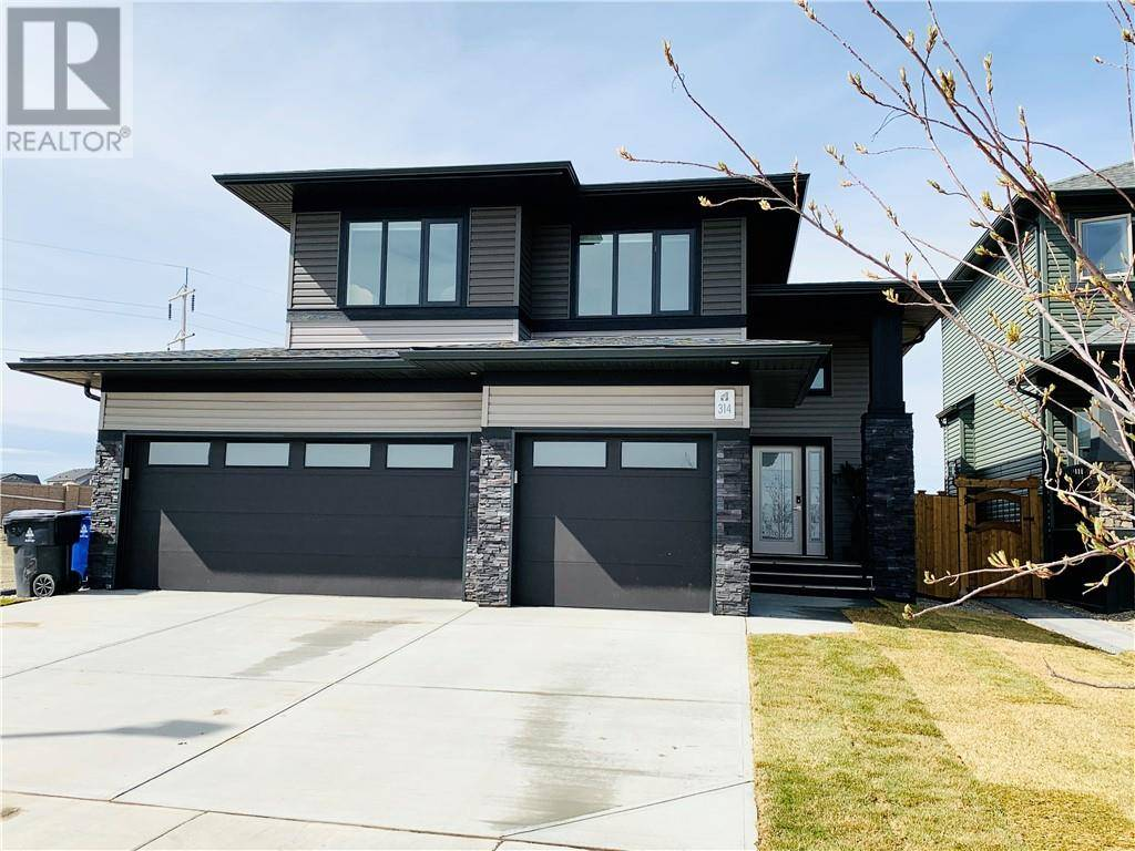 House for sale at 314 Canyon Meadows Rd W Lethbridge Alberta - MLS: ld0188848