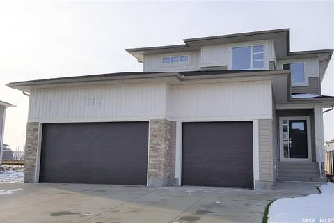 House for sale at 314 Secord Wy Saskatoon Saskatchewan - MLS: SK796956