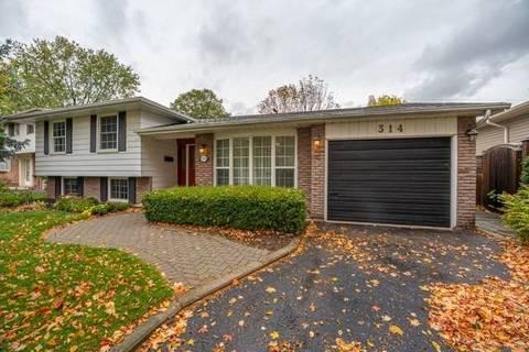 House for sale at 314 Silvana Cres Burlington Ontario - MLS: W4610214
