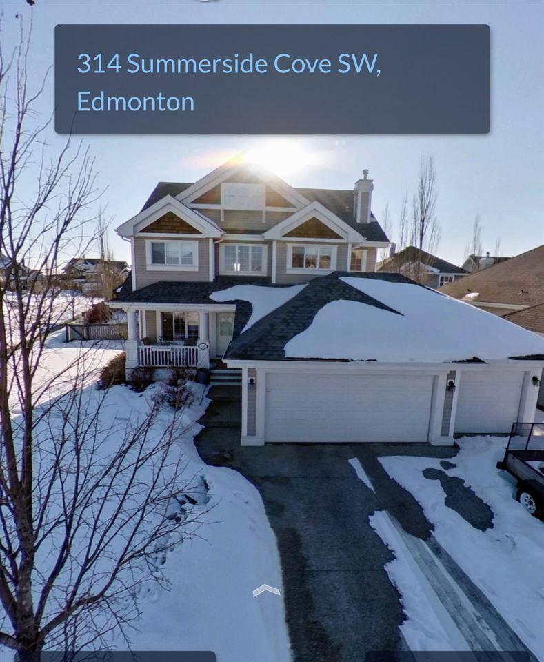 House for sale at 314 Summerside Cv  Sw Edmonton Alberta - MLS: E4187650