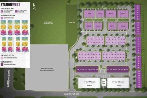 Condo for sale at 101 Masonry Ct Unit 315 Burlington Ontario - MLS: W4828683