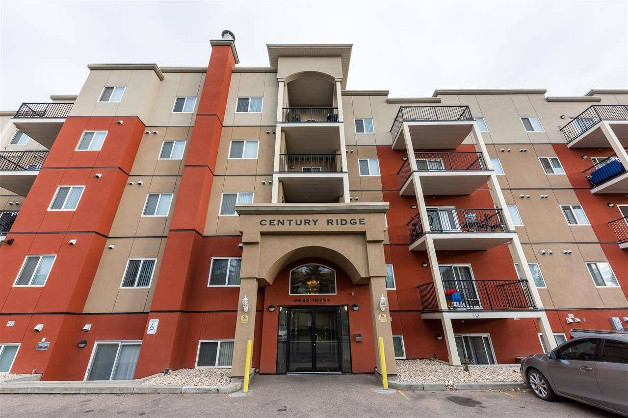 Condo for sale at 9945 167 St Nw Unit 315 Edmonton Alberta - MLS: E4176633