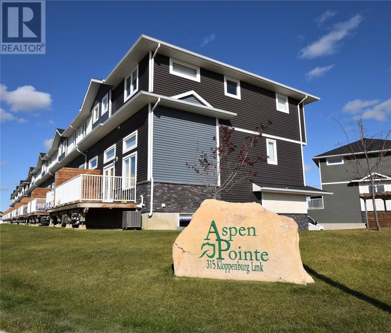 Townhouse for sale at 315 Kloppenburg Li Saskatoon Saskatchewan - MLS: SK787968