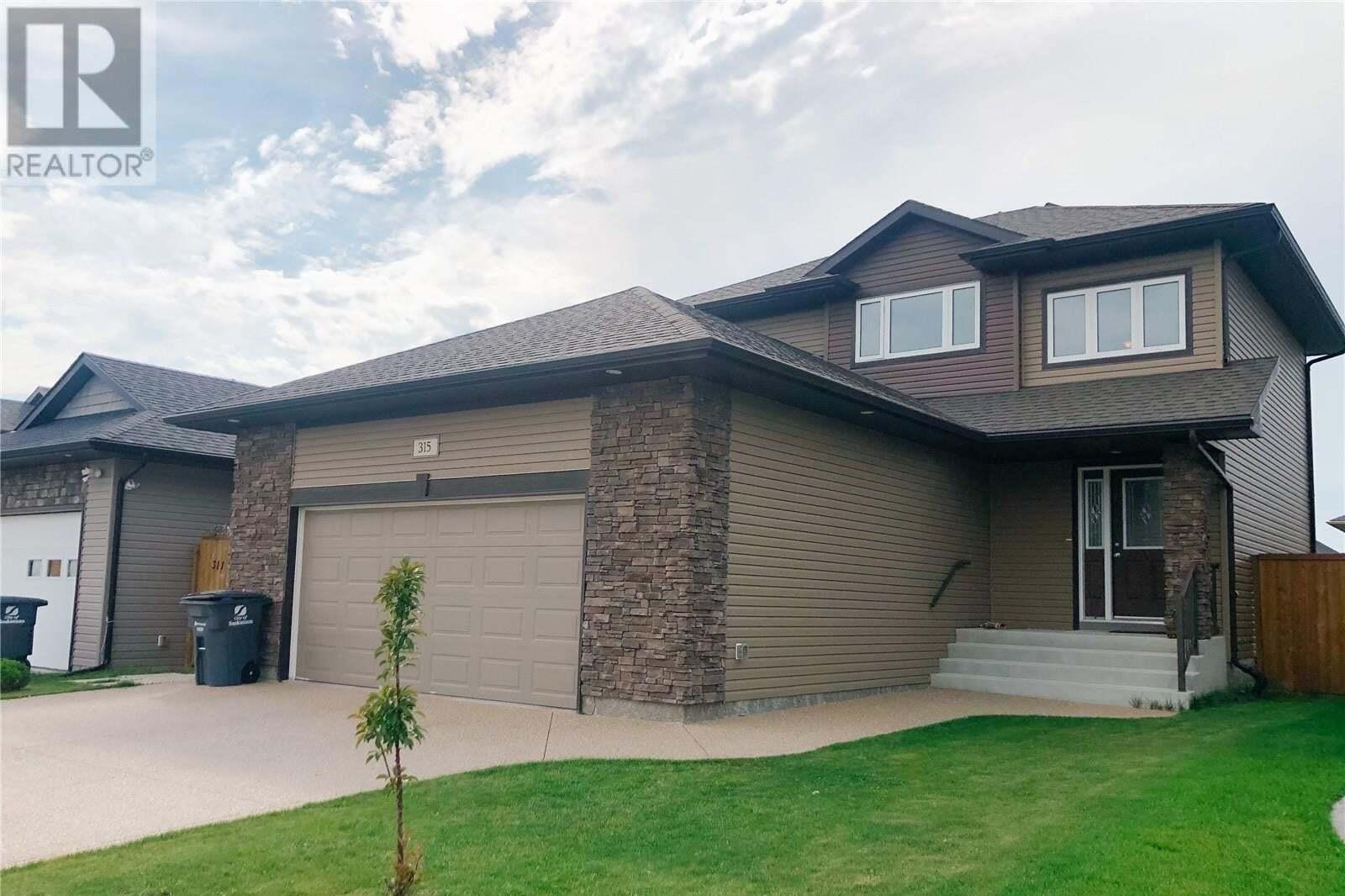House for sale at 315 Pringle Ct Saskatoon Saskatchewan - MLS: SK818563