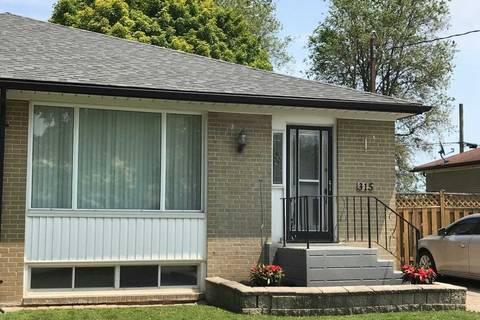 Townhouse for sale at 315 Rosedale Dr Whitby Ontario - MLS: E4514383