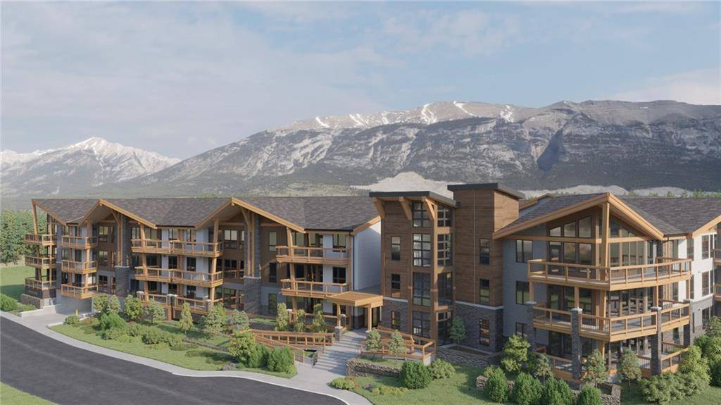 Townhouse for sale at 106 Stewart Creek Ri Unit 316 Three Sisters, Canmore Alberta - MLS: C4202999