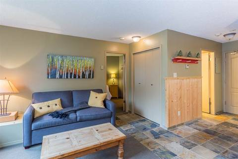Condo for sale at 4809 Spearhead Dr Unit 316 Whistler British Columbia - MLS: R2376120