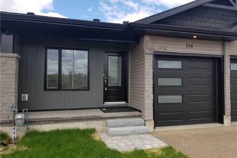 Townhouse for sale at 316 Forestview Cres Renfrew Ontario - MLS: 1129813