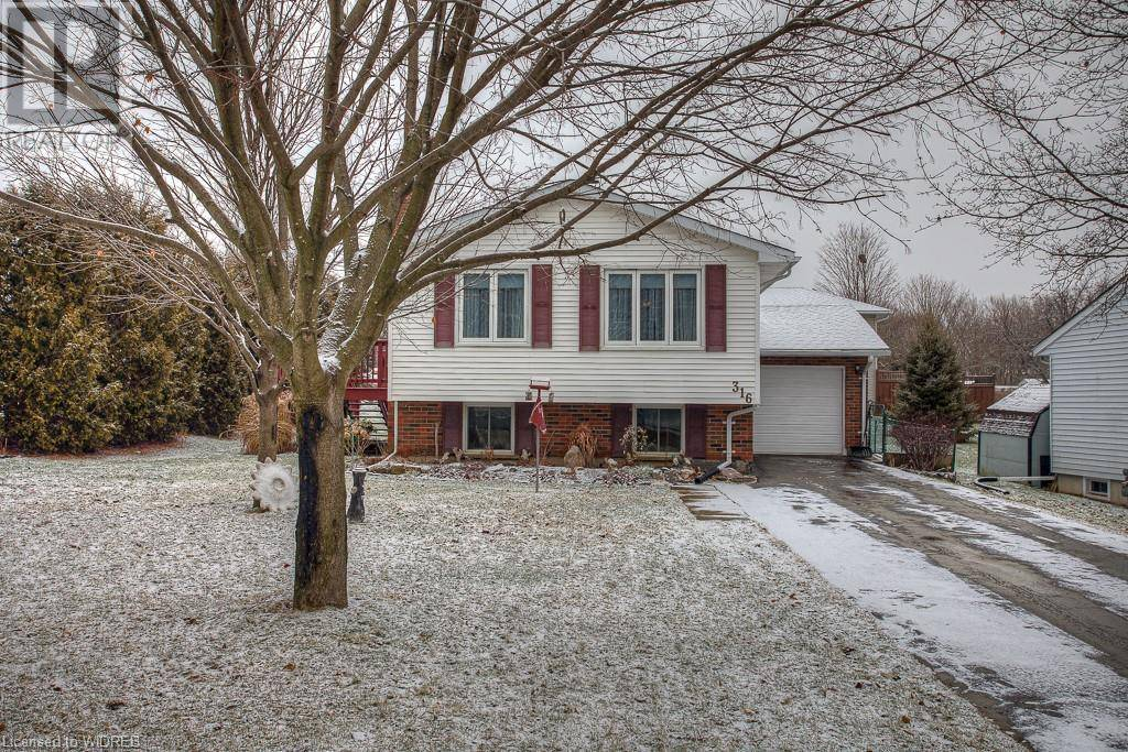 House for sale at 316 George St Ingersoll Ontario - MLS: 240121