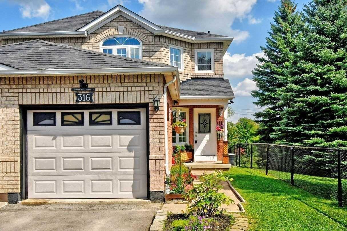 House for rent at 316 Pinnacle Tr Aurora Ontario - MLS: N4970622