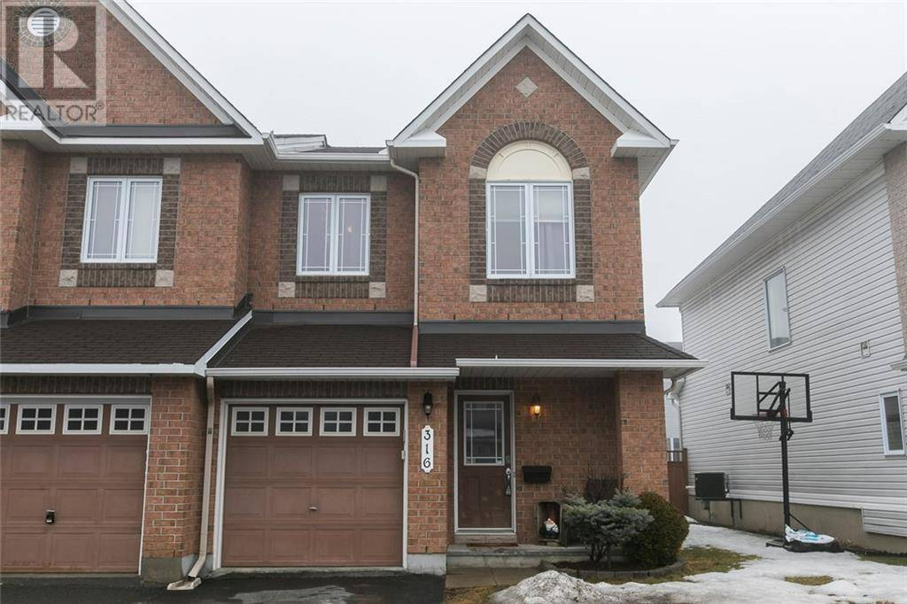 Townhouse for sale at 316 Vienna Te Orleans Ontario - MLS: 1187173