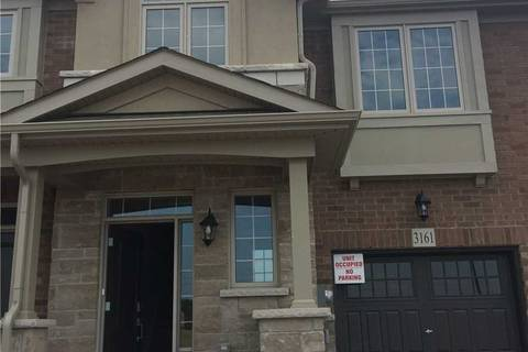Townhouse for rent at 3161 William Coltson Ave Oakville Ontario - MLS: W4549864
