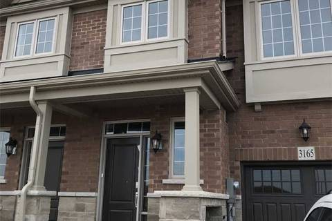 Townhouse for rent at 3165 William Coltson Ave Oakville Ontario - MLS: W4589165
