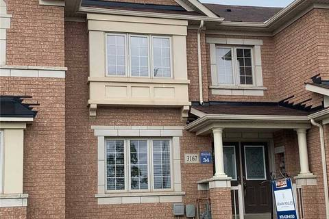 Townhouse for rent at 3167 Neyagawa Blvd Oakville Ontario - MLS: W4519247
