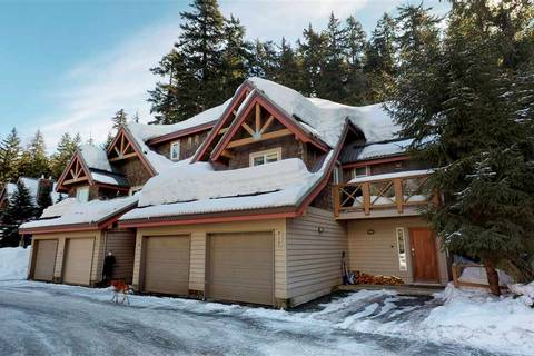 Townhouse for sale at 2222 Castle Dr Unit 317 Whistler British Columbia - MLS: R2347150