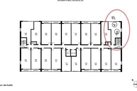 Condo for sale at 250 Albert St Unit 317 Waterloo Ontario - MLS: X4991080